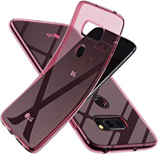 LG V30/LG V30 Plus/LG V30S ThinQ/LG V35/LG V35 ThinQ Case,Slim Thin Silicone Soft Skin Flexible TPU Gel Rubber Anti-Scratc...