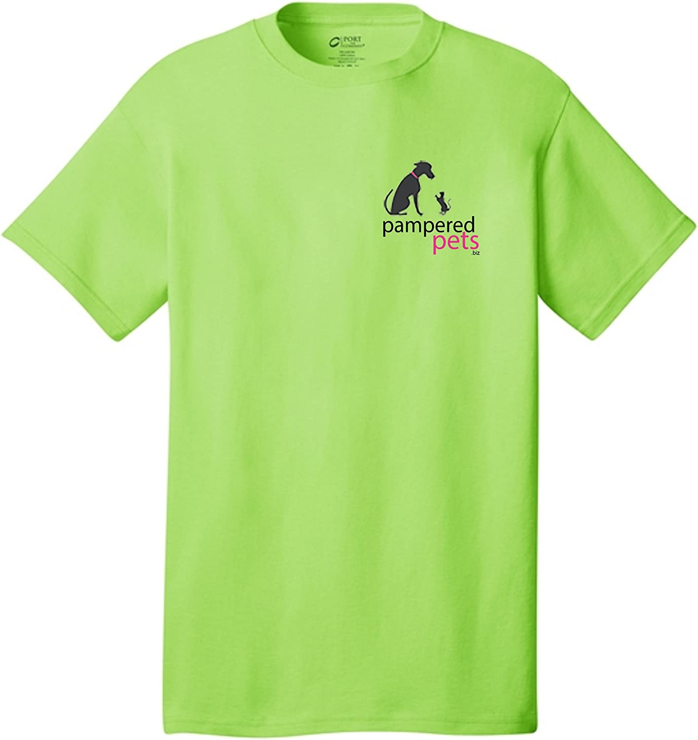 Pampered Pets Adult 5.4 oz 100Percent Cotton Bad Decisions Make Great Stories TShirt, XXLarge, Lime