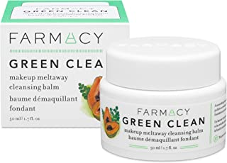 Farmacy Natural Remover Makeover - Green Clean Makeup Meltaway Cleansing Balm Cosmetic - اندازه سفر 1.7 اونس