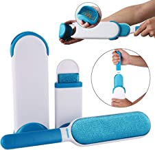 WOQZILINE Pet Fur and Lint Remover Pet Hair Remover Multi-Purpose Double Sided Self-Cleaning and Reusable Pet Fur Remover Magic Clean Clothing, Furniture, Home Clean Brush Set