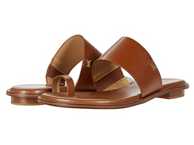 MICHAEL Michael Kors August Flat Sandal (Luggage) Women