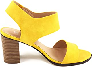 Best yellow block heel shoes Reviews
