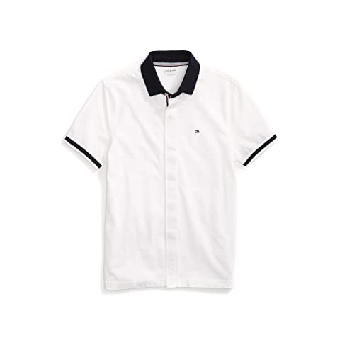 968509df Tommy Hilfiger Adaptive Polo Shirt with Magnetic Buttons at Zappos.com