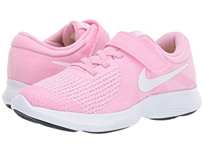 Nike Kids Revolution 4 (Little Kid) (Pink Rise/White/Pink Foam/Black) Girls Shoes