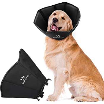 BABYLTRL Dog Cone Collar for After Surgery, Soft Pet Recovery Collar for Dogs and Cats, Comfy Cone Collar Protective Collar for Small Medium Large Dogs Wound Healing