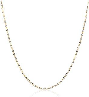 سلسلة صندوق طويلة من كول جولري، 14 قيراط من الذهب الأصفر أو الأبيض أو الوردي 0.7 مم (16، 18، 20، 22، 24، أو 76.2 سم)