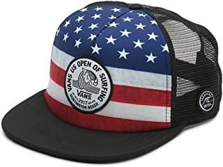 9a9238e2a38 Vans 2017 US Open Surfing Trucker Hat - Stars Stripes Flag