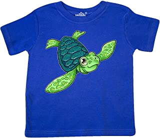 Sea Turtle with Swirls Toddler T-Shirt