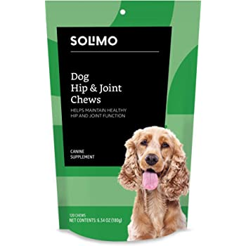 Amazon Brand - Solimo Dog Hip and Joint Supplement Soft Chews