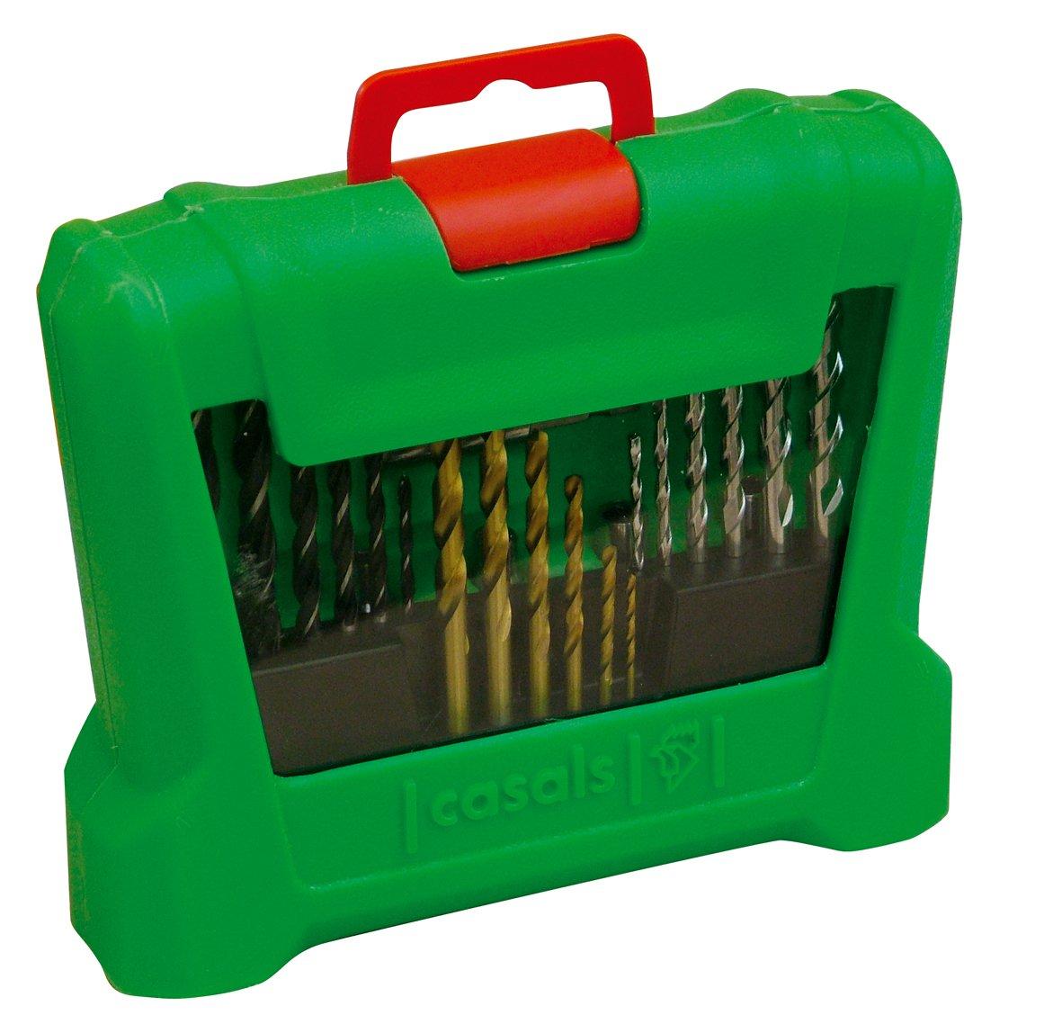 Casals M35 - Estuche de brocas y puntas de atornillar (35 piezas): Amazon.es: Bricolaje y herramientas