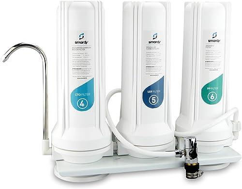 smardy HOME 203 Filtre Robinet Filtre à Eau Purificateur d'eau Filtrante - eau potable -3 Système de filtre