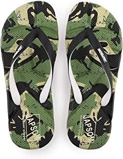 Men's Summer Flip Flops, Personalized Fashion Camouflage Massage Sandals Non-Slip Slippers Toe Post Thong Platform Wedge Beach Shoes,3,41