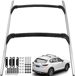 Mophorn Roof Rack 4PCS Roof Rack Rail Cross Bar Crossbar for Mazda CX-5 CX5 2017-2019