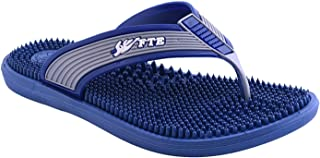 Ramdev Acupressure Unisex-Adult Blue Slippers - 8 UK