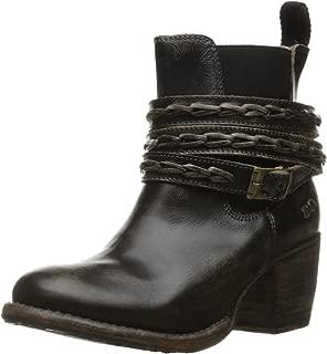 bed stu Women's Lorn Boot, Black Handwash, 9 M US