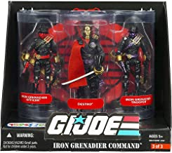 G.I. Joe 25th Anniversary: Iron Grenadier Command Exclusive Boxed Action Figure 3-Pack: Destro, Iron Grenadier Officer & Trooper
