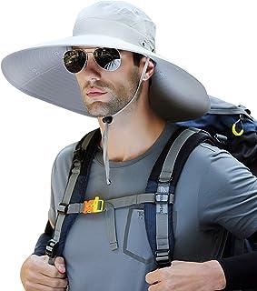 Men's Fishing Hats;Super Wide Brim Sun Hat;Waterproof UPF50+ Boonie Hat