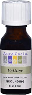 Aura Cacia 100% Pure Essential Oil Vetiver - 0.5 fl oz