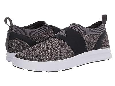 Quiksilver Amphibian Plus Slip-On II (Grey/Grey/White) Men