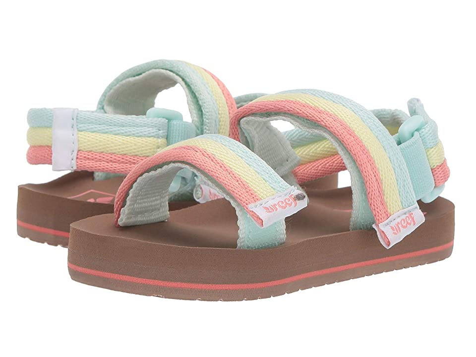 Reef Kids Ahi Convertible (Infant/Toddler/Little Kid/Big Kid) (Rainbow) Girls Shoes