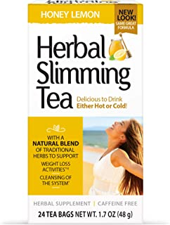 21st Century Slimming Tea - Honey Lemon - 24 Teabags
