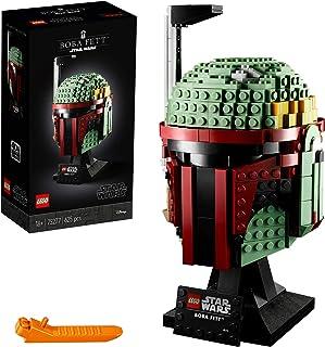LEGO Star Wars Le casque de Boba Fett, jeu de construction, Modèle à construire et collectionner, 625pièces, 75277