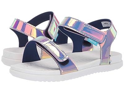 Native Kids Shoes Charley Hologram (Little Kid) (Pink Hologram/Shell White) Girl