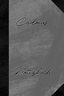 Cadmus Notizbuch: Liniertes Notizbuch für deinen Vornamen