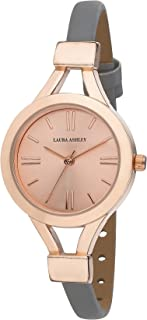 Laura Ashley Women's LA31011RG Analog Display Japanese Quartz Grey Watch