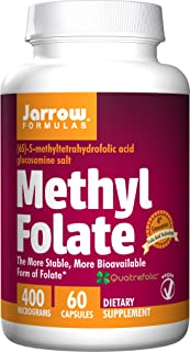 Jarrow Formulas - Methyl Folate 60 capsap (Pack of 2)