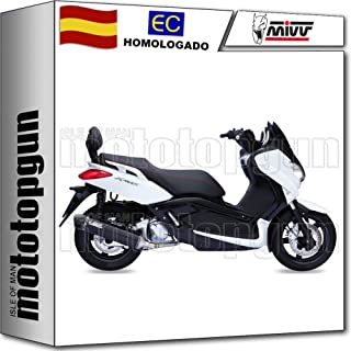 XCITY//MAJESTY 250 GRIS ANTHRACITE PROTECTION POT ECHAPPEMENT MAXISCOOTER RB MAX ADAPT YAMAHA XMAX 125CC 2006-16