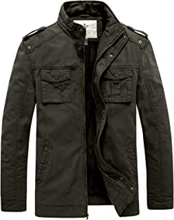 Men's Winter Casual Cotton Military Thicken Jacket