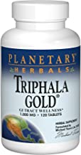 Planetary Herbals Triphala Gold 1000mg Extra Strength Ayurvedic – 120 Tablets Estimated Price : £ 16,94