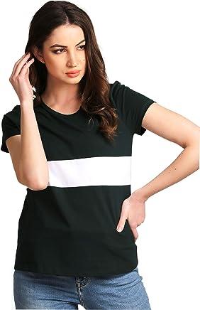 2bb6d7693 AELOMART Men's Cotton T Shirt-(Aelotshirt1021-Pn_Black). AELOMART Women's  Cotton Round Neck Green Half Sleeve Top(AWT4054-P)