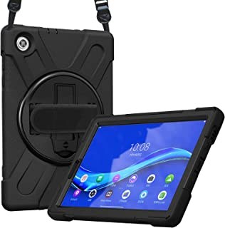 ProCase Lenovo Tab M10 FHD Plus Case 10.3 Inch (2020 2nd Gen), Rugged Heavy Duty Shockproof Rotating Kickstand Protective ...