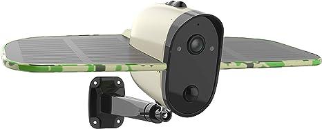 SOLIOM Wireless Outdoor Solar Battery Security Camera