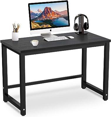 Accenter パソコンデスク 横幅120cm×奥行60cm×高さ75cm テーブル アジャスター付き pcデスク 在宅勤務 オフィスデスク 組立品