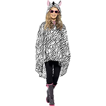 GIRAFFE PARTY PONCHO FANCY DRESS COSTUME ANIMALS