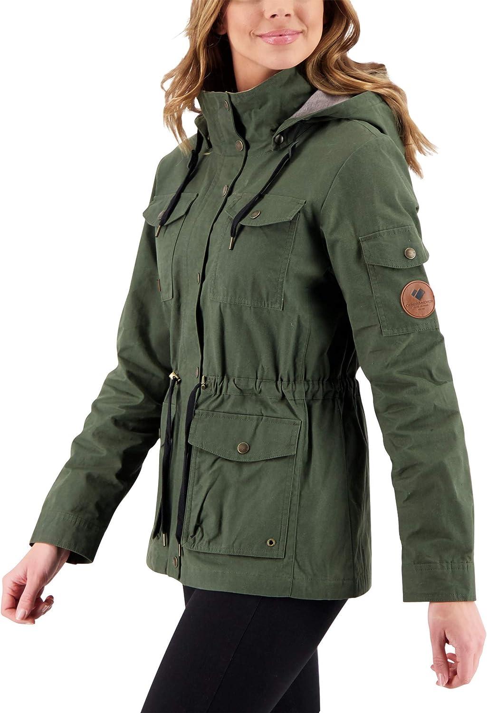 Obermeyer Women's 人気の定番 期間限定の激安セール Hazel Waxed Jacket