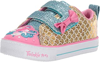Skechers Kids' Shuffle Lite-Mermaid Parade Sneaker