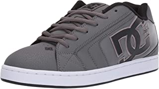DC Shoes Mens Shoes Net - Shoes - Men - US 12 - Grey Grey/Black/Grey US 12 / UK 11 / EU 46