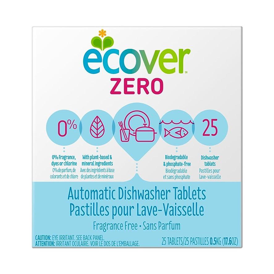 ヒント滞在移動海外直送品Zero Automatic Dishwasher Tablets, 17.6 OZ by Ecover