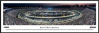 Bristol Motor Speedway Night Race - Blakeway Panoramas NASCAR Poster