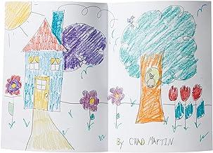 Becker's School Supplies Storybook Art Journals, Unruled, (Pack of 10)