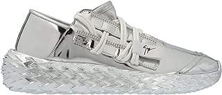 GIUSEPPE ZANOTTI DESIGN Luxury Fashion Womens RS00031002 Silver Sneakers |