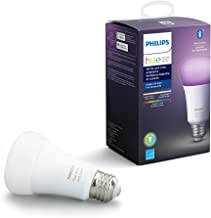 Philips Hue White Ambiance & Colour A19 Single With Bluetooth, A Certified For Humans Device