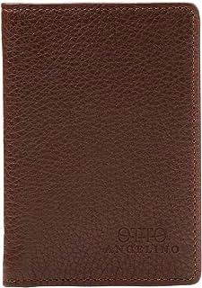 Otto Angelino Porte-Monnaie en Cuir Bifold - Porte-Passeport Style Carte de crédit pour ID, et Cartes de débit, et Argent...