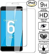 Guran [3 Unidades] Protector de Pantalla Vidrio Cristal Templado para Vernee Mars Pro Smartphone Glass Vidrio Templado Film (9H, 2.5D Edge, 0.3mm)