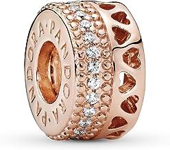 Amazon Co Uk Pandora Charms Rose Gold