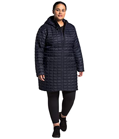 The North Face Plus Size Thermoball Eco Parka (Aviator Navy) Women